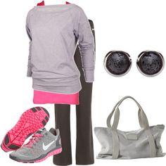 Mom-on-the-go :) AKA: realistic style!