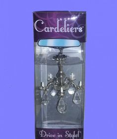 Girly Cars -                                                              car accessories for the mirror | Cardelier Chandelier for your Car Rear View Mirror Ornament