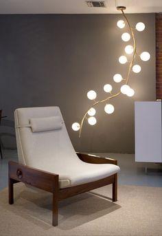 beautiful organic lighting by Jeff Zimmerman
