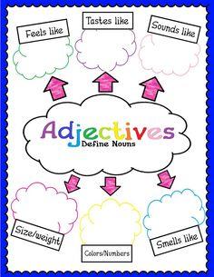 math worksheet : 1000 images about adjective activities on pinterest  adjectives  : Adjective Worksheets For Kindergarten