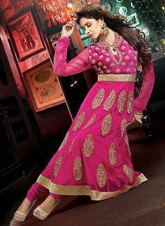 Exquisite Pink Salwar Kameez @ $155