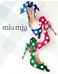 #miu #miu #heels  AH! I love these MIU MIU heels for Spring!