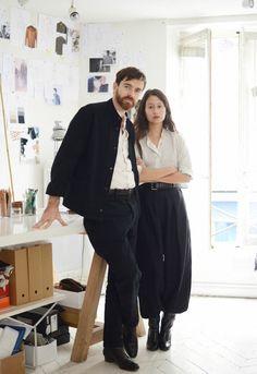 Sarah & Christophe , Paris.