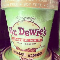 Cashew Milk Ice Cream