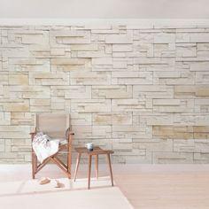 Stein #Tapete   Vliestapete Provence Stones   #Fototapete Breit #Betonwand  #Backsteinwand #