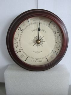 "6"" Cherry Tide Clock by West and Company West and Company http://www.amazon.com/dp/B004J20TCY/ref=cm_sw_r_pi_dp_6BvVtb0RK4KHRT6N"