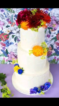 Tie died wedding cake Beautiful Wedding Cakes, Tie, Desserts, Tailgate Desserts, Deserts, Cravat Tie, Ties, Postres, Dessert