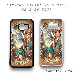 tinker bell pin up Phone case for samsung galaxy S6 & S6 EDGE
