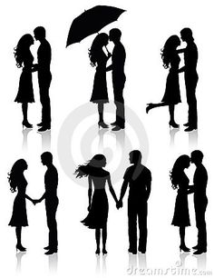 Collection of couples. by Oksanita, via Dreamstime