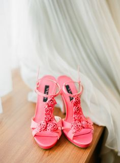 A Perfect Pop of Pink - @Nina Shoes
