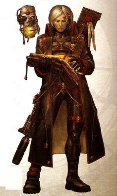 dark heresy character art - Google-søk