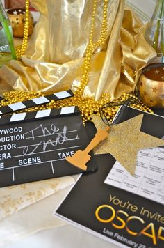 cool Oscar Party Planning Tips : Oscar Party Decorations