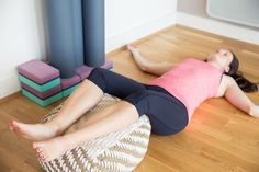Cool It! Try out different restorative yoga poses to help lower your temperature and neutralize your system.