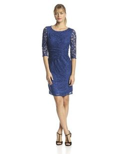 Women's Lace Sheath Dress