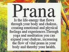 #Prana definition for #Yoga