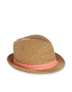 Neon Braid Trilby Hat