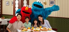 Fun meets yum with Sesame Street Character Breakfast at Universal Studios Singapore
