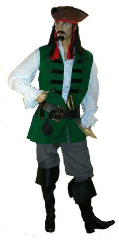 This mens pirate costume is top quality, and will really stand out from the rest. Have a browse through our range of pirate costumes for men. Pirate Fancy Dress, Pirate Costumes, Captain Jack, Pirates, Men, Tops, Dresses, Fashion, Gowns