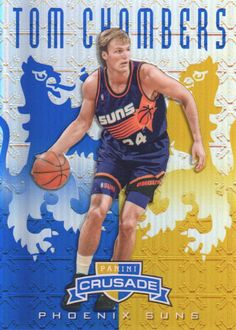 """Tom Chambers was known for his strong shooting and high-flying dunks, Chambers played professionally from 1981 to 1997. At 6'10"""", he was selected to four NBA All-Star Games as a member of the Seattle SuperSonics and the Phoenix Suns.  He averaged 18.1 points and 6.1 rebounds in his career.   A low rebound stat for someone so tall."""