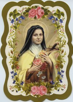Holy Card of St. Therese