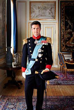 Nuevo retrato oficial de los Príncipes de Dinamarca