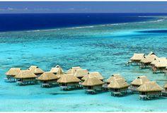 BORA-BORA? NO, THIS IS ORA BEACH, MOLUCCAS ISLAND, INDONESIA.