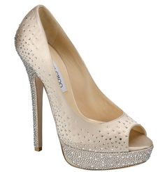 jimmy choo sugar peep toe crystal