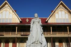 Statue of Queen Victoria – Georgetown, Guyana - Atlas Obscura Georgetown Guyana, Mount Roraima, British Guiana, Anglican Cathedral, Port Of Spain, South American Countries, South America Travel, Queen Victoria