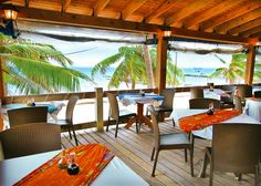 San Pedro Restaurants - Sushi in Belize - San Pedro Dining - Blue Water Grill Belize Vacations, Vacation Destinations, Vacation Trips, Dream Vacations, Vacation Ideas, Restaurant Exterior, Grill Restaurant, Blue Water Grill, Busch Gardens Tampa Bay
