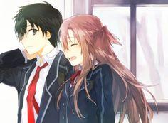 キリト Kirito & アスナ Asuna - ソードアート・オンライン Sword Art Online