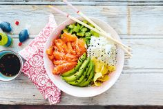 Unser beliebtes Rezept für Sushi-Bowl und mehr als 55.000 weitere kostenlose Rezepte auf LECKER.de.