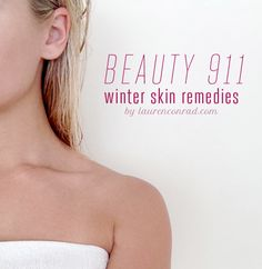 #Protips from @laurenconrad1 to make sure winter weather doesn't wreak havoc on your skin this season #ANEWyou