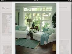 Living room, French doors