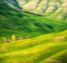 The Rolling Hills of Tuscany and Moravia by Photographer Marcin Sobas » Ciel Bleu Media