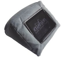 iCushion is a cushion for your iPad. Perfect for use around the home, in bed or at the desk.