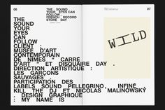 My name is — Visual Identity - Les Garçons sauvages (The Wild Boys)