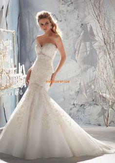 Taft Elegant & Lyxig Vinter Bröllopsklänningar 2013