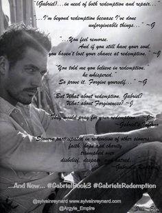 #GabrielsRedemption #GabrielBook3 @sylvainreynard @Argyle_Empire by @Iris_Elli http://www.sylvainreynard.com/2013/03/announcement-gabriel-book-three.html#