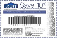 Lowes Hardware Job Application 10 Off For All Lowes Cardholders Valid 81117  Through Job .