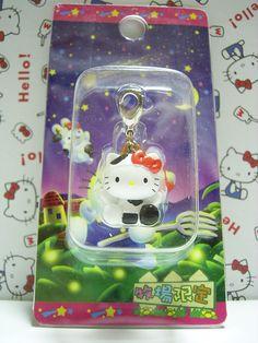 HELLO KITTY GOTOCHI Series Kawaii Charm Mascot Figure Cow Bokujo Japan NEW 2005