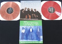 Online veilinghuis Catawiki: The Doors - Waiting For The Midnight Sun (Live Stockholm 1968) & New York City Broadcast 1969: 2 albums (3LP's): 2LP's on coloured vinyl + 1x limited edition
