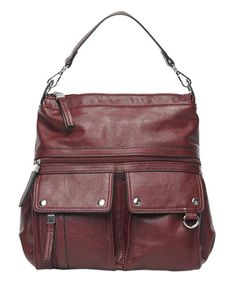 Take a look at this Wine Jelica Backpack Purse today!
