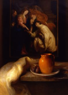 Juliette Aristides - The Spanish Pitcher, Oil Artist Painting, Painting & Drawing, Juliette Aristides, Jacob Collins, Classical Realism, Love And Respect, Light And Shadow, Traditional Art, Art Education