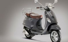 Modern vespa scooter wallpaper