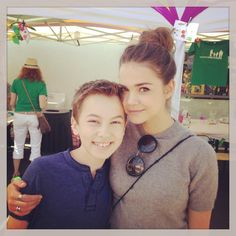 #TheFosters stars Maia Mitchell and Hayden Byerly celebrating Fosters Mother's Day with our friends Foster Care Counts!!