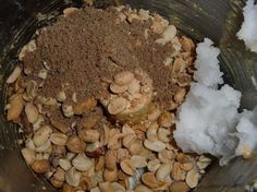 Make your own peanut butter -use coconut oil