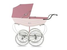 "Baby Carriages & Buggies Brilliant Guidecraft Espresso Baby/buggy Stroller Rubber Edge Wood Wheels 18""american Girl Evident Effect"