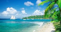 The tenth sexiest beach according to Travelzoo is on Mustique Island, in Saint Vincent and the Grenadines. Southern Caribbean Cruise, Caribbean Honeymoon, Best Places To Honeymoon, Best Honeymoon Destinations, Honeymoon Trip, Honeymoon Ideas, Travel Destinations, Isla Margarita, Strand Wallpaper