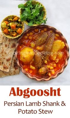 Abgoosht (Lamb Shank and Potato Stew)