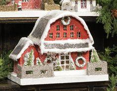 Red Barn Putz House